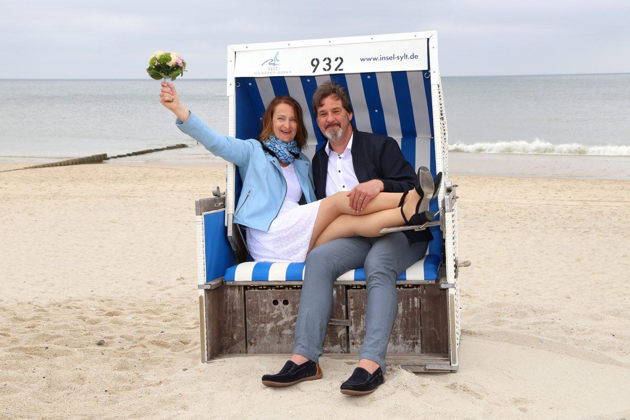Heiraten auf Sylt mit Schenk-Art-Fotografie