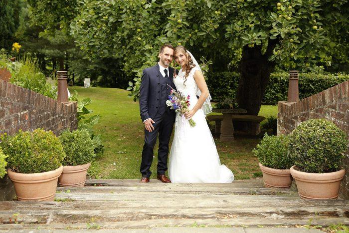 Brautpaar auf Friederikenhof